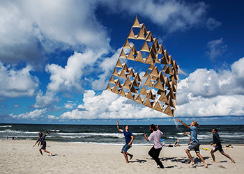 Architektai iš viso pasaulio Nidoje sukūrė kai ką įspūdingo. Pamatykite tai patys!