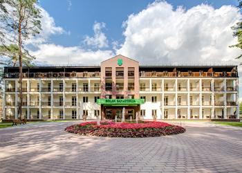 Procedūrų SAVAITGALIS Eglės sanatorijoje Birštone