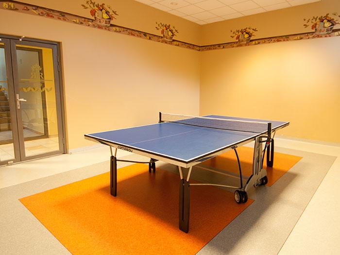 Čia Jūsų laukia smagus biliardo ir stalo teniso žaidimas