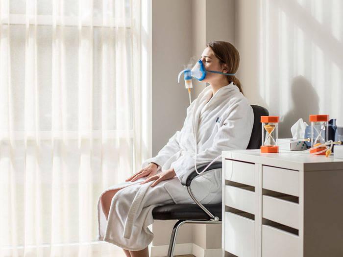 Inhaliacija ir gydomasis masažas