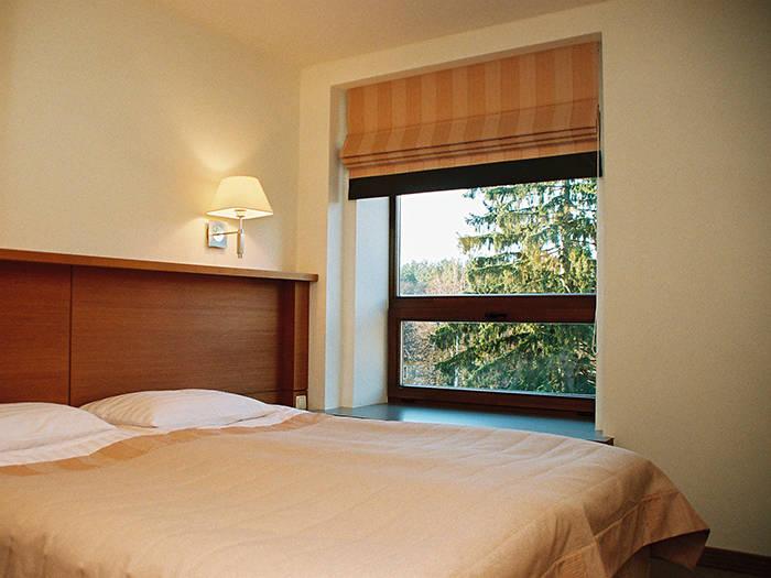 Išsimiegosite vienoje dvigulėje arba dviejose viengulėse lovose