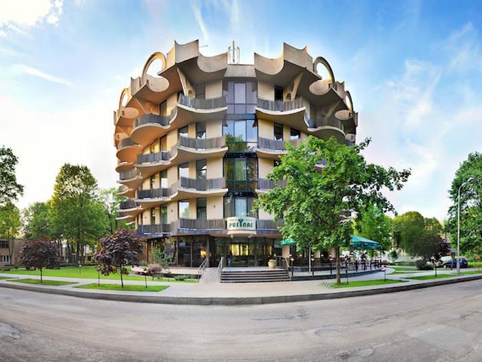 Viešbutis įkurtas pačiame Druskininkų miesto centre