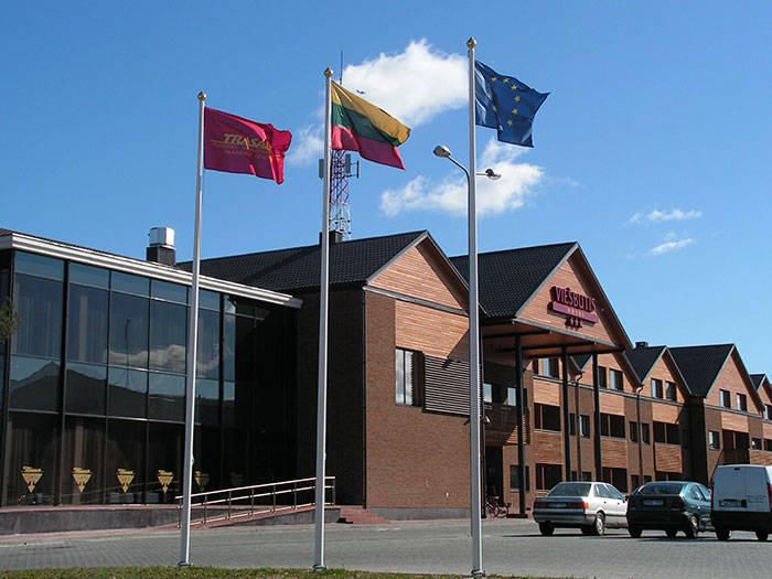 """Viešbutis """"Trasalis - Trakai Resort & SPA"""" didžiausias Trakuose!"""