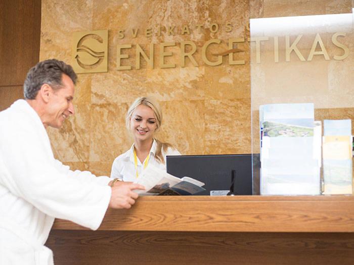 """Sveikatos centras """"Energetikas"""" - Viešbučiai Palangoje"""