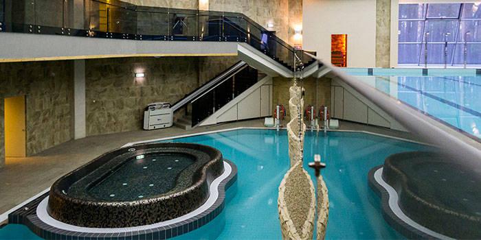 3 val. pirčių ir baseino komplekse ir PROCEDŪRA