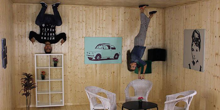 """ŠEIMOS pramogos """"Illusion Rooms"""" Druskininkuose!"""
