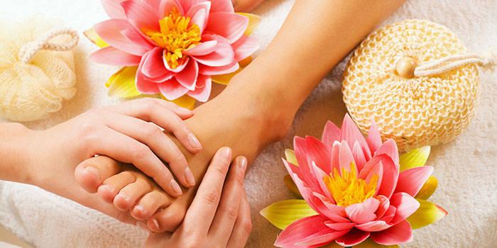 Kojų masažas Klaipėdoje