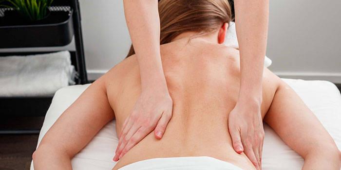 Aromaterapinis nugaros masažas Kaune