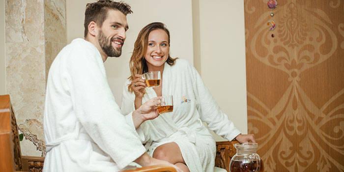 SPA poilsis su VAKARIENE ir masažais DVIEM