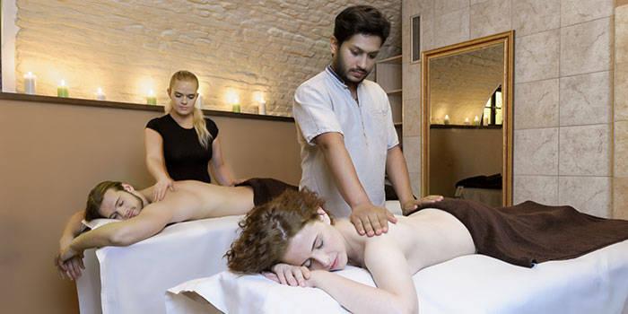 SPA kompleksas su nugaros masažu DVIEM Vilniuje
