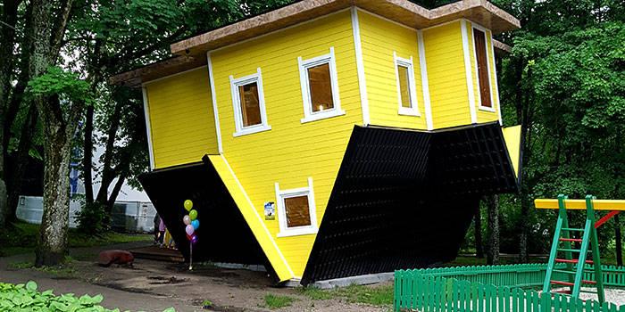 Illusion Rooms ir Apverstas namas DVIEM bei ŠEIMAI