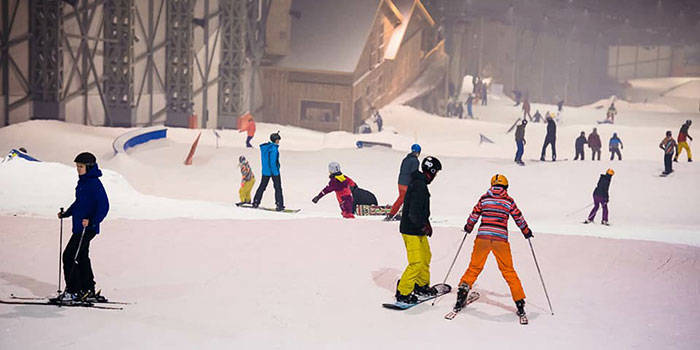 2 val. slidinėjimas Snow Arenoje Druskininkuose