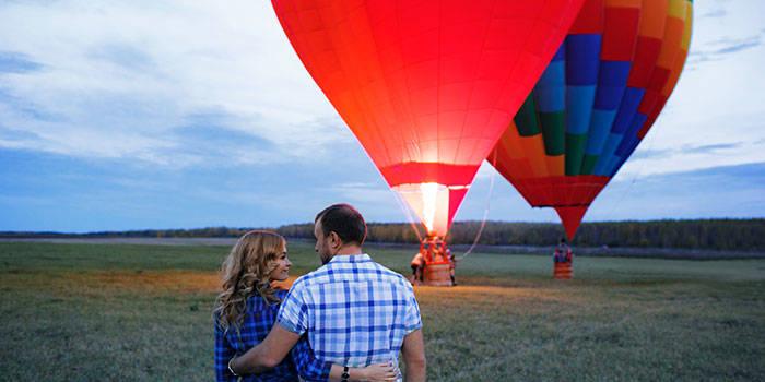 Skrydis oro balionu Birštone VIENAM arba DVIEM