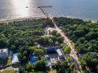 Palangos vasaros parkas - Viešbučiai Palangoje
