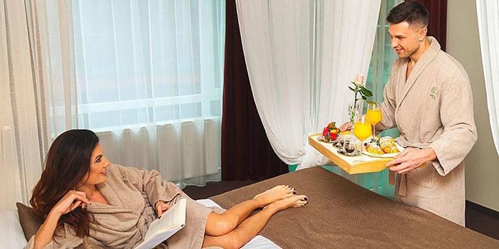 2 nakvynių prabangus SPA poilsis ir masažai DVIEM