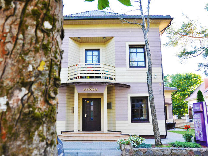 Vila Astoma - Viešbučiai Palangoje