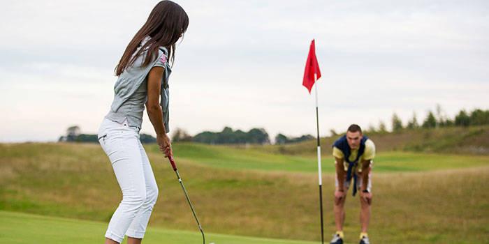 Poilsis su VAKARIENE ir golfo pamoka DVIEM