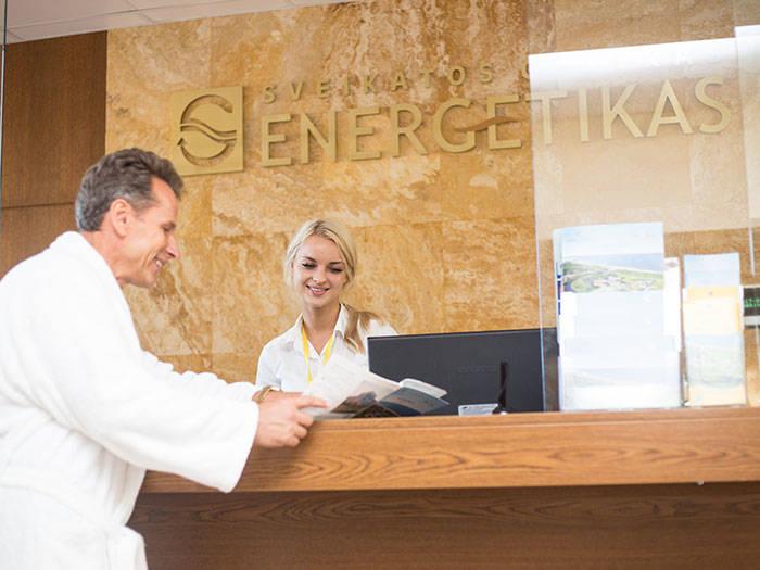 Energetikas - sveikatos centras - Viešbučiai Palangoje