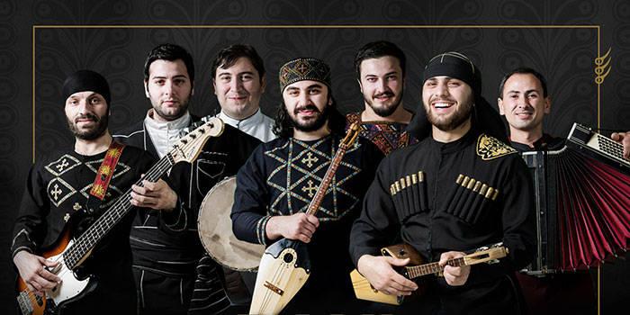 VIP šventė gruziniškai su VAKARIENE ir koncertu