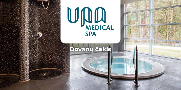 """""""UPA Medical SPA"""" DOVANŲ ČEKIS"""