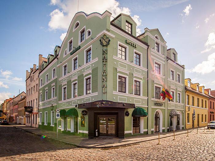National Hotel - Viešbučiai Klaipėdoje
