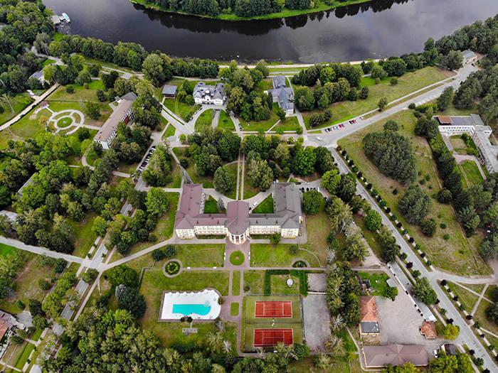 Draugystės sanatorija - Viešbučiai Druskininkuose